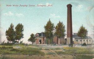 LUDINGTON , Michigan, 1912 ; Water Works Pumping Station