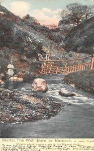 Moffat, The Well Burn or Burnock Scotland, UK 1903