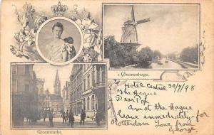 Netherlands Royalty, Queen Wilhelmina, Gravenhage, Groenmarkt, City Hall 1898