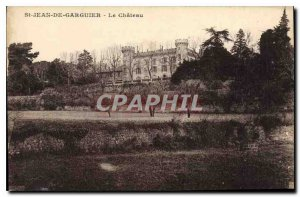 Old Postcard St John of Garguier Le Chateau
