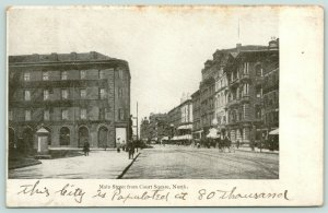 Springfield MA~This City Is Populated @ 80,000*~Almost All Bldgs Now Gone!~c1906