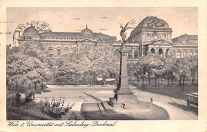 Denkmal Austria Wien I, Universitat mit Liebenberg Denkmal Wien I, Universita...