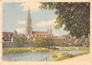 Ulmer Muenster Cathedral River General view