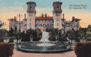 ST. AUGUSTINE, Florida; The Alcazar Hotel, Fountain, 00-10s