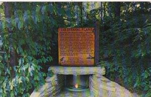 North Carolina Cherokee Indian Reservation Eternal Flame At Mountainside Thea...