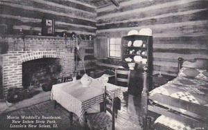 Martin Waddell Cabin, New Salem State Park, Springfield, Illinois, 1920-1940s