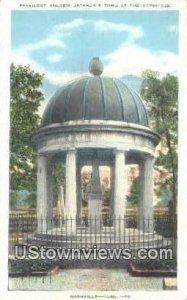 President Andrew Jackson's Tomb - Nashville, Tennessee
