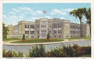 GENEVA, New York, 1900-1910´s; Geneva High School