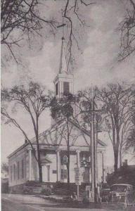 Maine Damariscotta Baptist Church Albertype