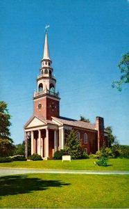 Massachusetts Framingham Center First Parish Church 1701