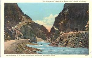 Linen of Crags & Tunnels Wind River Canon Wyoming WY