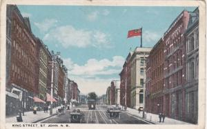 King Street , ST JOHN , New Brunswick , Canada , PU-1923