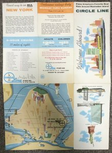 CIRCLE LINE, Manhattan Island, New York, 1956; Travel Guide