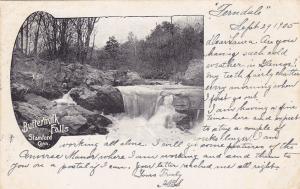 STAMFORD, Connecticut; Buttermilk Falls, PU-1905