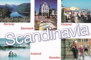 Advertising Scandinavia By Finnair Icelandair & Scandinavian Airlines