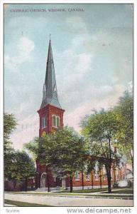 Catholic Church , Windsor , Ontario , Canada , PU-1909