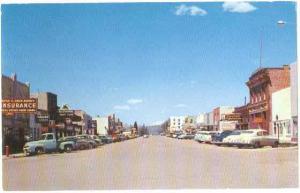 Street Scene in Afton, Wyoming, WY, chrome
