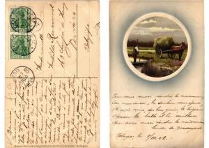 CPA Auf der Heimkehr Meissner & Buch Litho Serie 1527 (730588)