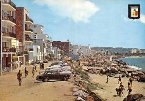 Postcard Maritime Promenade San Antonio De Calonge, Costa Brava Spain
