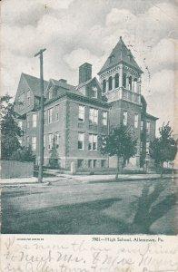 ALLENTOWN , Pennsylvania, PU-1906 ; High School