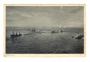 Dummer, Swimming, Boating and Sailing, West Flanders, Belgium, PU-1932