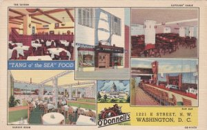 Washington D C O'Donnell's Seafood Restaurant Multi View Curteich sk1814