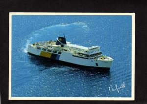 ON MS Chi Cheemaun Ferry Boat Tobermory Baymouth Ontario Canada Carte Postale