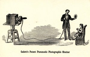 Cadett's Patent Pneumatic Photographic Shutter (Eastman House of Photog.)