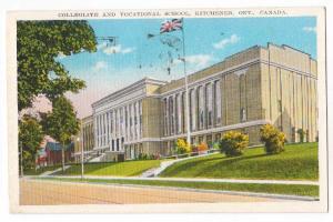 Collegiate & Vocational School, Kitchener Ont