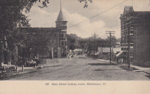 MIDDLEBURY, Vermont, 1901-1907; Main Street Looking South