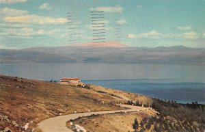 Lake of Galilee and Mt Hermon Israel 1964