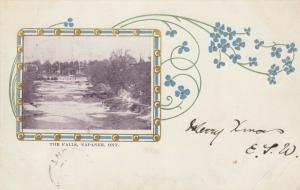 NAPANEE , Ontario , Canada , PU-1905 ; The Falls