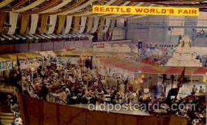 Seatle Washington Worlds Fair 1962, Exposition, Postcard Post Card