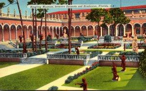 Florida Sarasota Ringling Art Museum Corner Of Court