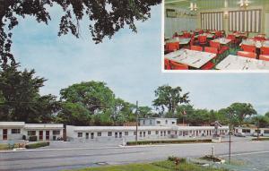 Dining Room, Zephyr Motel, Restaurant & Gift Shop, Gananoque, Ontario, Canada...