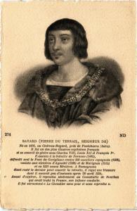 CPA BAYARD (PIERRE DU TERRAIL, SEIGNEUR DE). Militaire (287287)