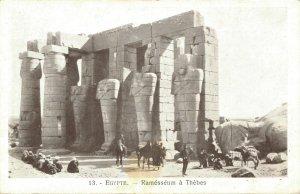 Egypt Egypte Ramesseum a Thebes 04.03