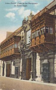 Lima, Peru - House of the Marquis of Torre-Tagle - DB