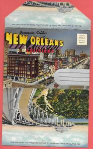 Souvenir Folder of New Orleans, Louisiana