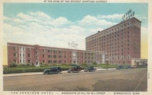 MINNEAPOLIS, Minnesota, 1910s; The Sheridan Hotel