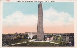 Bunker Hill Monument Charlestown Boston Massachusetts
