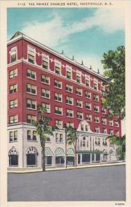 North Carolina Fayetteville The Prince Charles Hotel