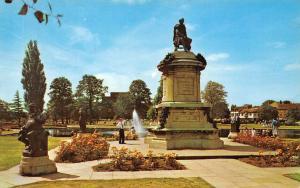 Shakespeare Statue (Gower Memorial) Fountain Stratford Upon Avon