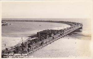 California Long Beach Spit and Argue Club Real Photo