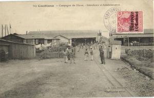 CPA Maroc Casablanca Campagne du Maroc (23696)