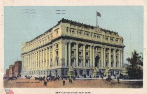 NEW YORK CITY, New York, PU-1908; New Custom House