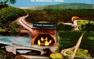 Pennsylvania Turnpike Blue Mountain Tunnel & More 1961