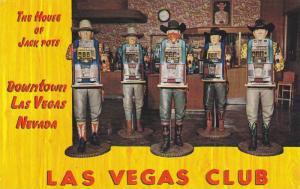 The House of Jack Pots,  Las Vegas Club,  Las Vegas,  Nevada,  40-60s