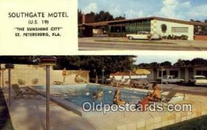 Southgate Motel, St. Petersburg, FL, USA Motel Hotel Postcard Post Card Old V...