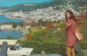 St Thomas View Of Charlotte Amalie From Bluebeards Hill